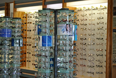 Lenses and frames at Frey Eye Designs in Tampa FL